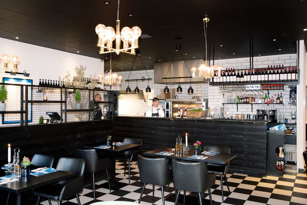 Basilico restaurant inside